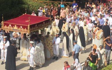 Η Αίγινα εόρτασε την ανακομιδή των λειψάνων του Πολιούχου της Αγίου Νεκταρίου