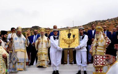 Τα Κύθηρα εόρτασαν την Πολιούχο τους Παναγία Μυρτιδιώτισσα