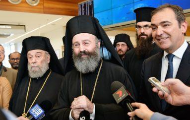 Στον Πρωθυπουργό της Πολιτείας της Νοτίου Αυστραλίας ο Αρχιεπίσκοπος Μακάριος