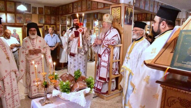 Η εορτή του Αγίου Αμφιλοχίου Μακρή στα Χανιά