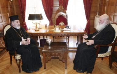 Ο Αρχιεπίσκοπος Θυατείρων στην Ιερά Αρχιεπισκοπή Αθηνών