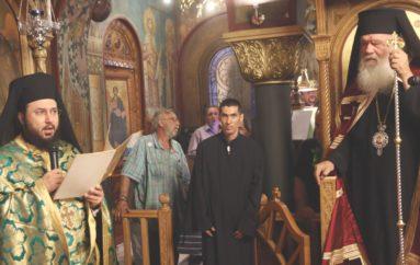 Ο Αρχιεπίσκοπος στον I. Ναό Υψώσεως Τιμίου Σταυρού Κυψέλης