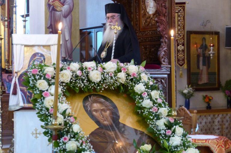 Η τιμία κάρα της Οσίας Σοφίας της Κλεισούρας στην Καστοριά