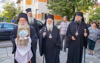 Ο Μητροπολίτης Βεροίας στην Ι. Μητρόπολη Βράτσας της Εκκλησίας της Βουλγαρίας