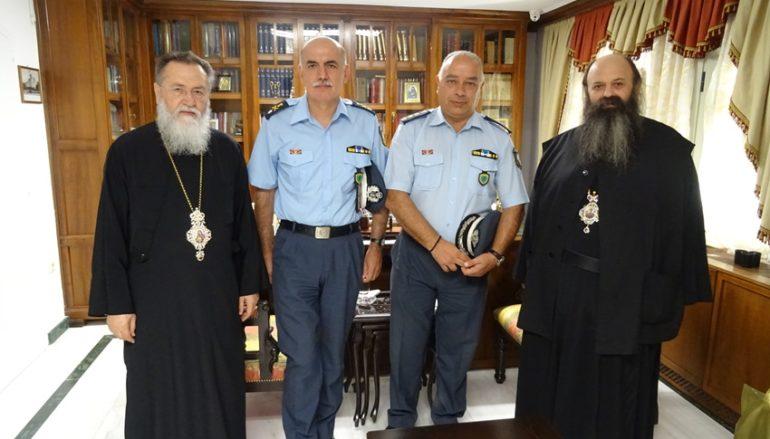 Στον Μητροπολίτη Κορίνθου ο νέος Γεν. Αστυνομικός Δ/ντης Πελοποννήσου