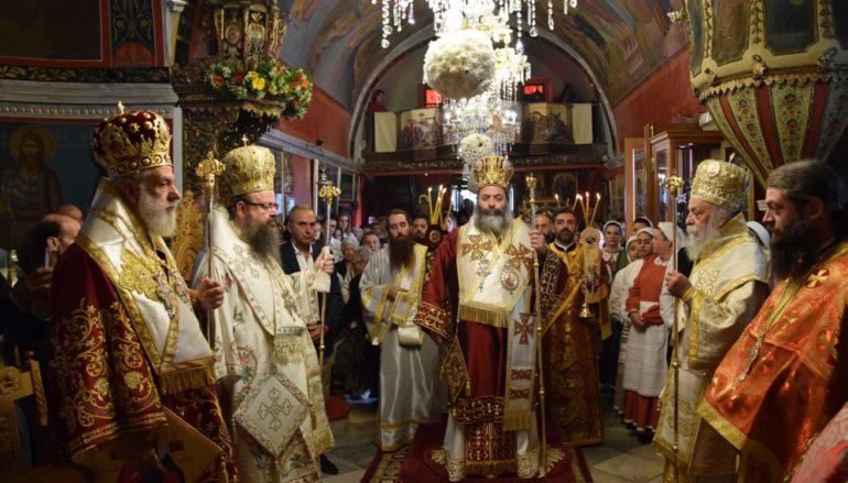 Λαμπρός ο εορτασμός του Αγίου Μανουήλ του Κρητός στη Μύκονο