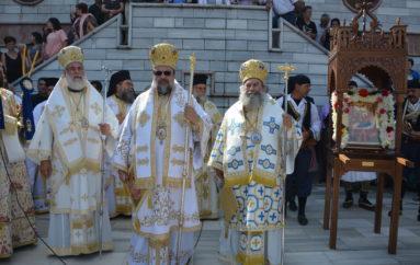 Με λαμπρότητα πανηγύρισε η Ιερά Μονή Παναγίας Γιάτρισσας Ταϋγέτου