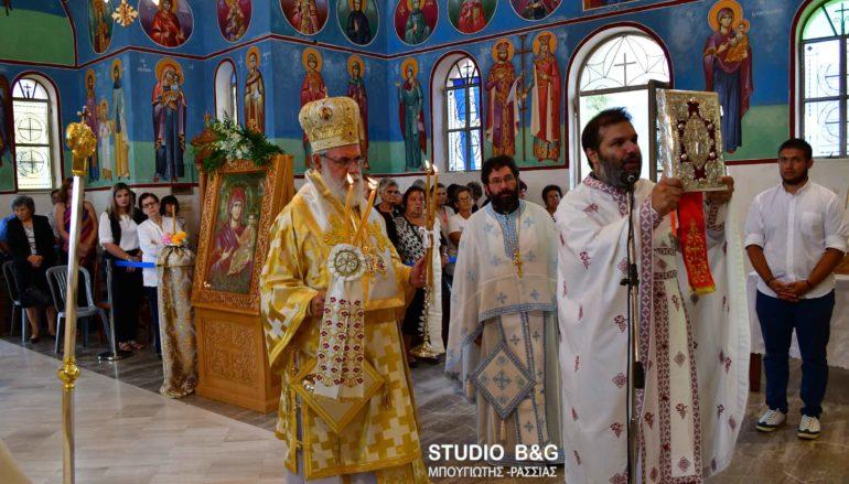 Αρχιερατική Θ. Λειτουργία στο Μαλαντρένι Αργολίδος