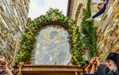 Με λαμπρότητα πανηγύρισε η Ι. Μονή Παναγίας Θεοσκεπάστου Σοχού