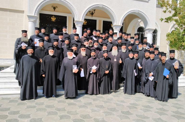 Δ΄ Ιερατική Σύναξη στην Ι. Μητρόπολη Περιστερίου