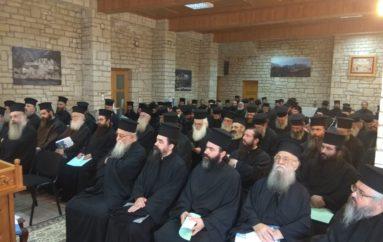 Ιερατική Σύναξη στην Ι. Μητρόπολη Αιτωλίας