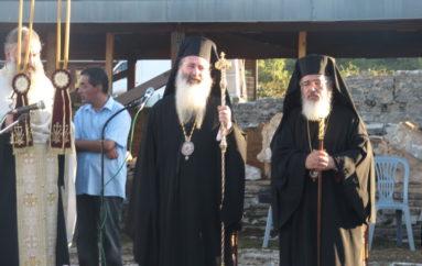 Δισαρχιερατικός Εσπερινός για τον Άγιο Αλκίσωνα στην Αρχαία Νικόπολη