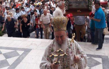 Ο εορτασμός της Παναγίας Μυρτιδιώτισσας στην Ι. Μ. Χαλκίδος