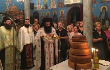 Πλήθος πιστών τίμησε τις Αγίες Σοφία, Πίστη, Ελπίδα και Αγάπη στη Χαλκίδα