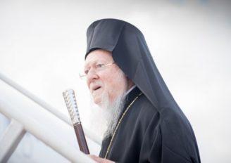 Ο Οικ. Πατριάρχης αναχώρησε για Αθήνα και Ρώμη
