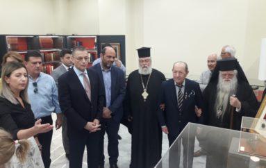 Επίσκεψη του Υφυπουργού Εθνικής Άμυνας Αλκιβιάδη Στεφανή στο Αίγιο