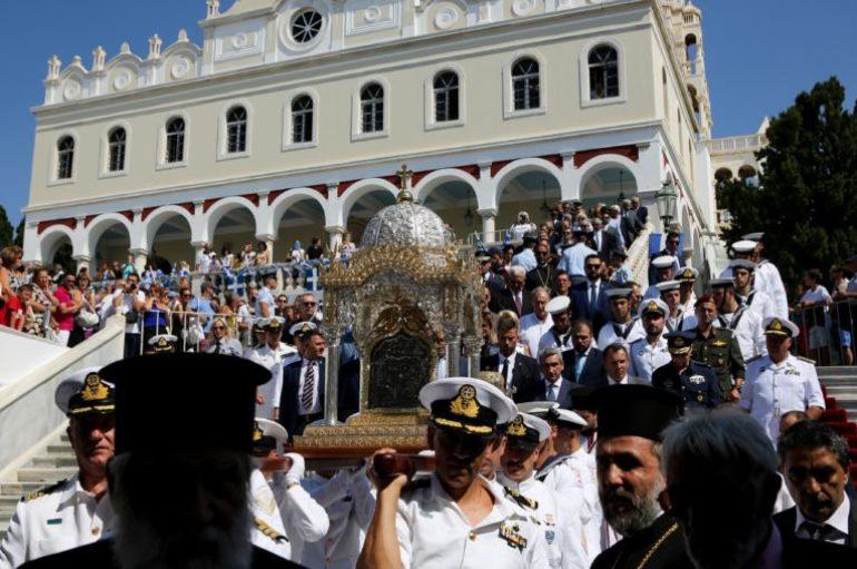 ΣτΕ: Στο Κράτος ο έλεγχος του «Ιερού Ιδρύματος Ευαγγελιστρίας» στην Τήνο