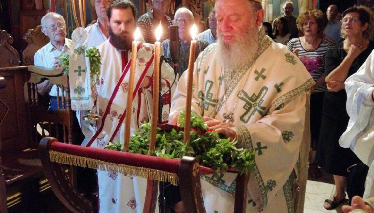 Αγρυπνία επί τη εορτή της Υψώσεως του Τιμίου Σταυρού στην Ι. Μ. Χαλκίδος