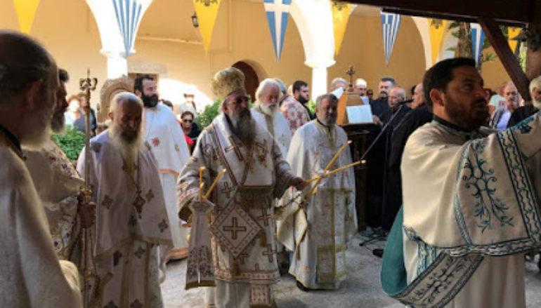 Πανηγύρισε ο Ι. Ναός Παναγίας Μυριοκεφάλων στην Ι. Μ. Ρεθύμνης