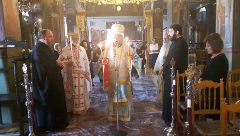Ο Μητροπολίτης Πτολεμαΐδος στον Ι. Ναό Αγίου Νικολάου Ερέτριας
