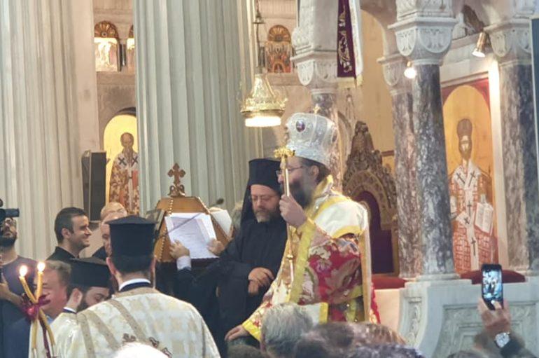 Η Χειροτονία του νέου Επισκόπου Κνωσού Προδρόμου