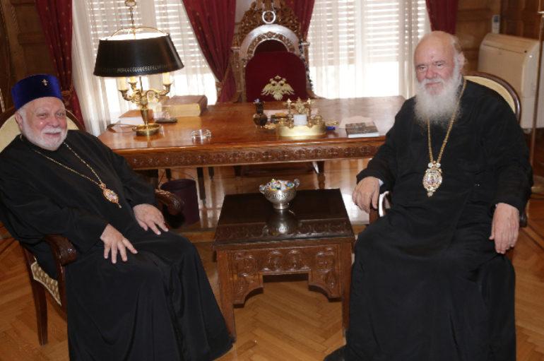 Ο Μητροπολίτης Εσθονίας στον Αρχιεπίσκοπο Ιερώνυμο