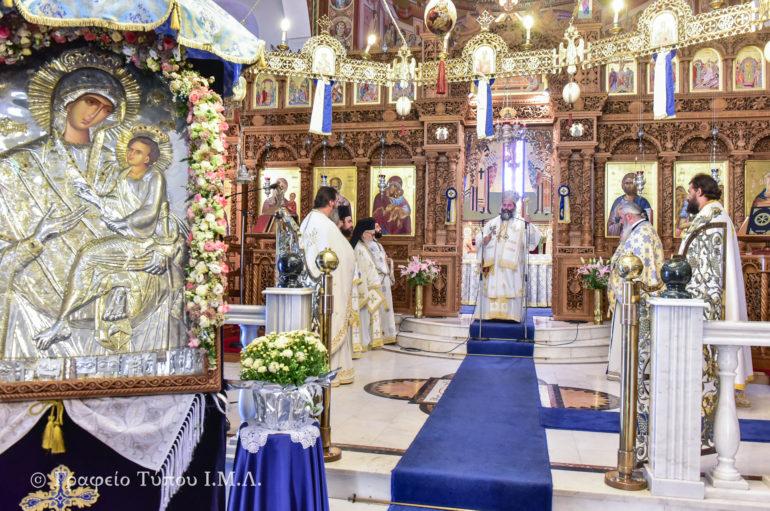 Η εορτή της Παναγίας Γοργοϋπηκόου στην Ι. Μ. Λαγκαδά