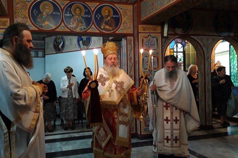 Επέτειος εκλογής του Επισκόπου Κερνίτσης Χρυσάνθου
