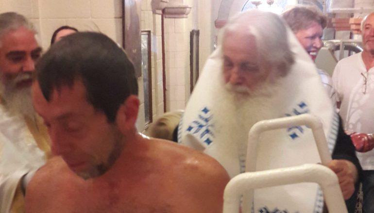 Ο Δισέγγονος του Αγ. Λουκά του Ιατρού βαπτίστηκε Ορθόδοξος Χριστιανός στο Ναύπλιο