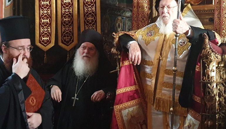 Στην Ιερά Μονή Βατοπαιδίου ο Οικουμενικός Πατριάρχης
