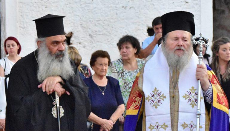 Δισαρχιερατικός Εσπερινός στον Άγιο Γεώργιο Μορμόρη Χανίων