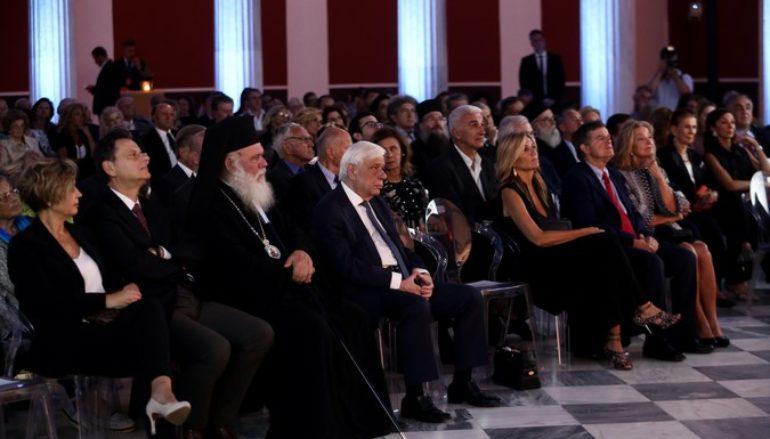 Ο Αρχιεπίσκοπος στην εκδήλωση για την Ημέρα Μνήμης των Εθνικών Ευεργετών