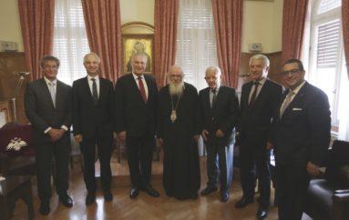 Συνάντηση Αρχιεπισκόπου με τον Υπουργό Εσωτερικών της Βαυαρίας