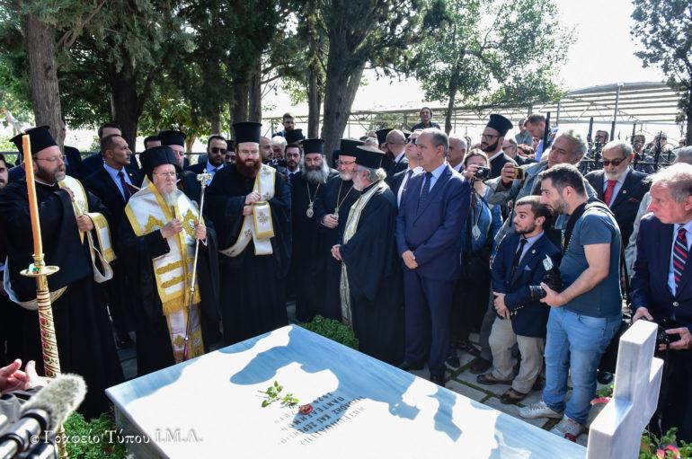 Ο Οικ. Πατριάρχης στην Ιερά Μονή Βλατάδων Θεσσαλονίκης