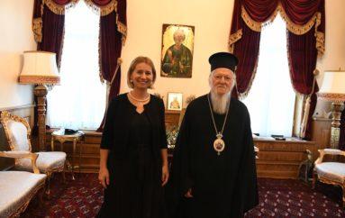 Η Γεν. Πρόξενος της Κροατίας στην Πόλη στο Οικουμενικό Πατριαρχείο