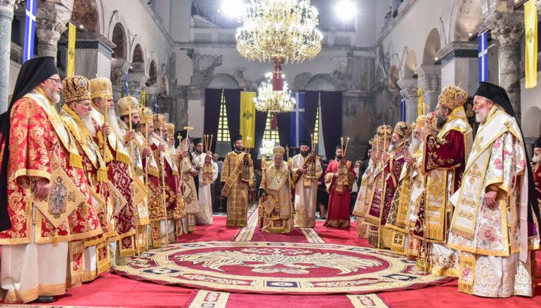 Λαμπρό Πολυαρχιερατικό Συλλείτουργο για τον Άγιο Δημήτριο στη Θεσσαλονίκη