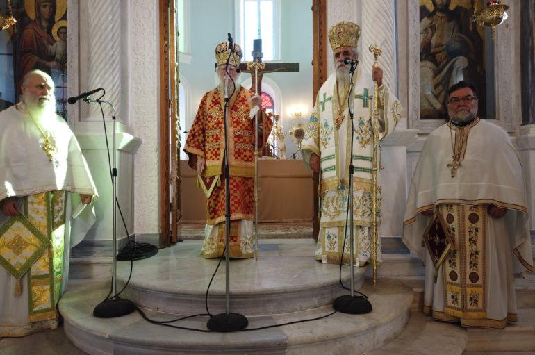 H εορτή του Αγίου Διονυσίου του Αρεοπαγίτου στον Πύργο