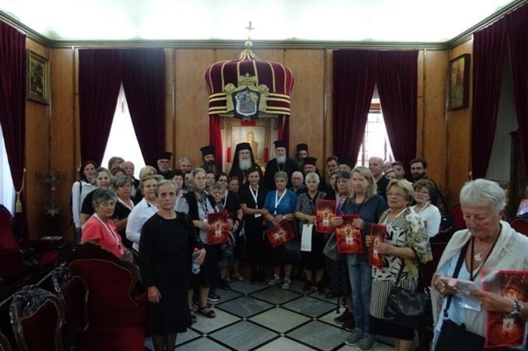 Ο Μητροπολίτης Κορίνθου με προσκυνητές επισκέφθηκαν τα Ιεροσόλυμα