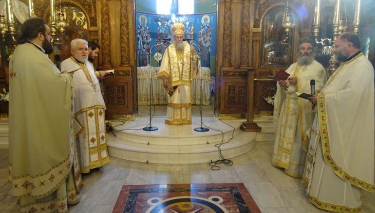 """Κορίνθου: """"Οι Ιερείς προσφέρουν στον Κύριό μας ολόκληρη την ύπαρξή τους"""""""