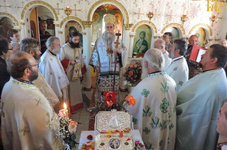 Ο εορτασμός του Ευαγγελιστού Λουκά στην Ελάτη Άρτης