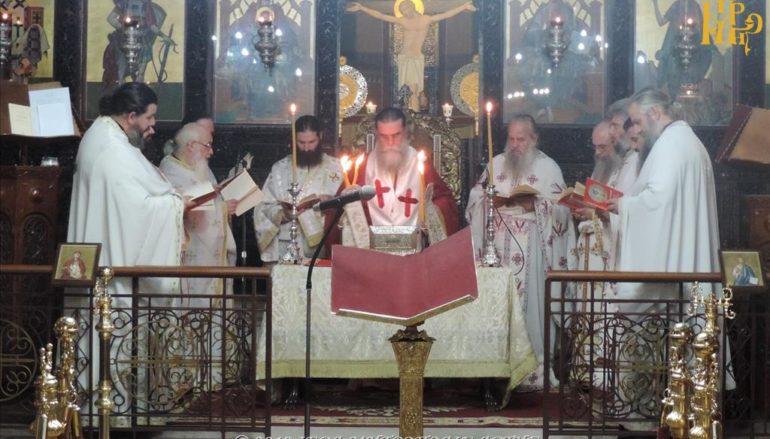 Αρχαιοπρεπής Λειτουργία του Αγ. Ιακώβου του Αδελφοθέου στην Άρτα