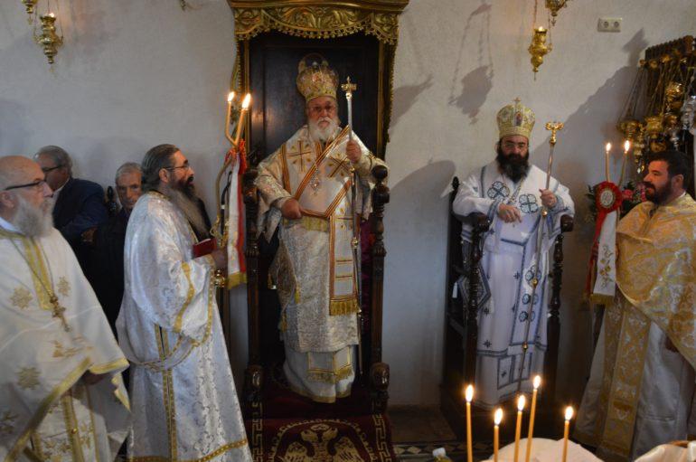 Λαμπρά η Επέτειος ευρέσεως της Παναγίας Έλωνας στο Λεωνίδιο
