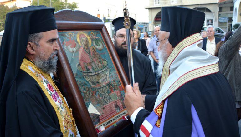 Η Τρίπολη υποδέχθηκε την Ιερά Εικόνα της Παναγίας Σγράπας