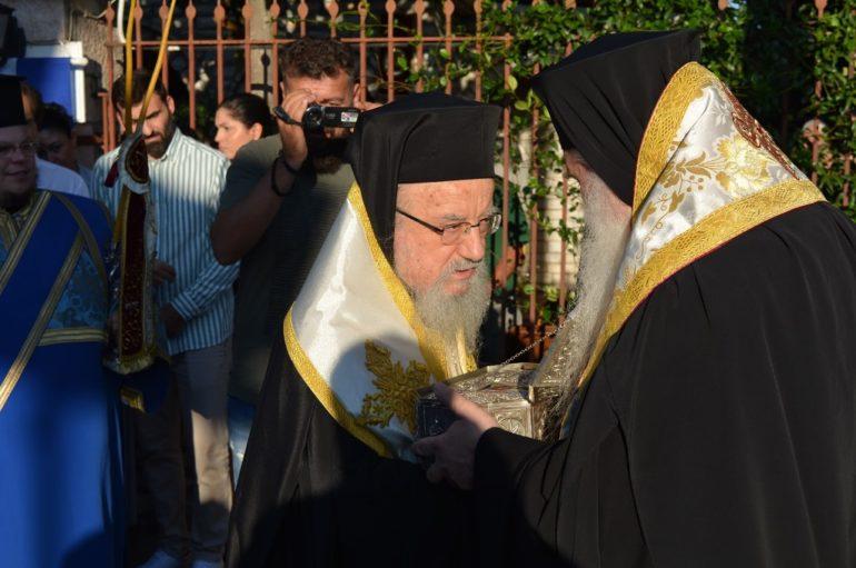 Εορταστικές εκδηλώσεις στο Ησυχαστήριο του Αγ. Κυπριανού στο Παναιτώλιο