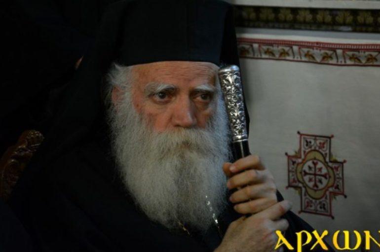 Δηλώσεις του Μητροπολίτη Κυθήρων για την Ουκρανική «Αυτοκεφαλία»