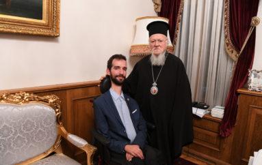 Ο Έλληνας Ευρωβουλευτής Στέλιος Κυμπουρόπουλος στο Οικ. Πατριαρχείο