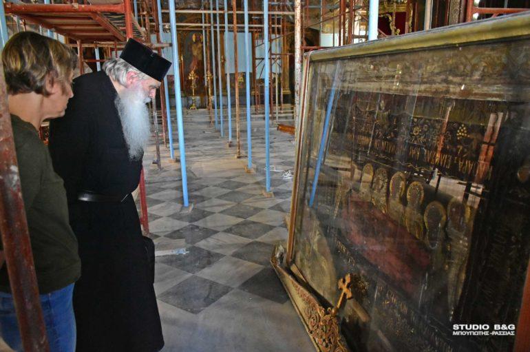 Ξεκίνησαν εργασίες συντήρησης στον Άγιο Νικόλαο Ναυπλίου