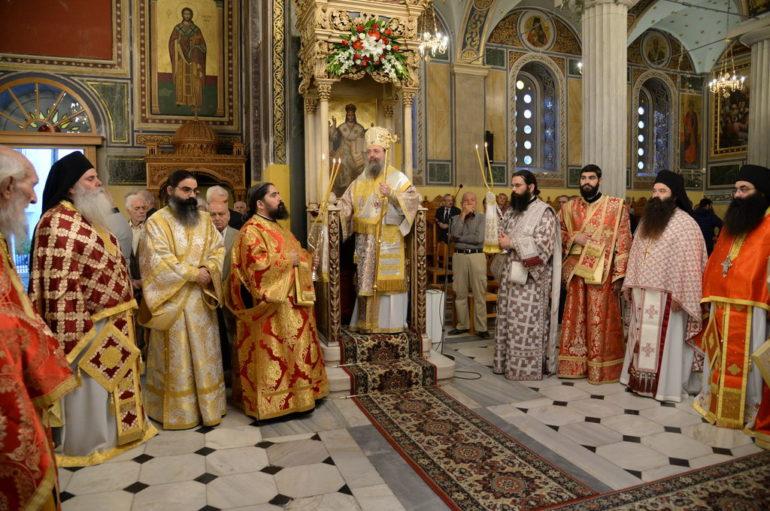 Λαμπρός ο εορτασμός του Αγίου Δημητρίου στην Πάτρα
