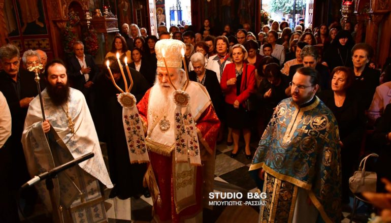 Πανηγύρισε η Ι. Μονή Αγίου Δημητρίου Καρακαλά Ναυπλίου