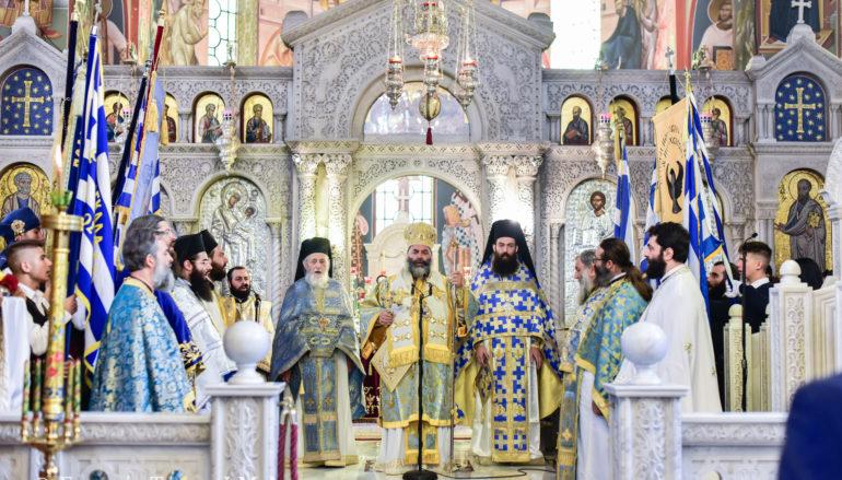 Η εορτή του Αγίου Νέστορος στην Ι. Μητρόπολη Λαγκαδά